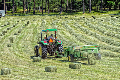 Making Hay Print by Constantine Gregory