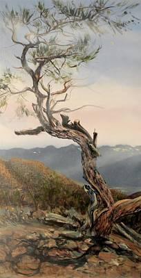 Pi Painting - Making My Way by Deborah Uhl
