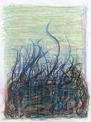 Thought Drawing - Making The Darkness Conscious by Kelly K H B