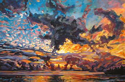 Maku'u Sunrise Original by Sarah Taylor Ko