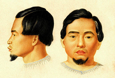 Malay Man Print by Collection Abecasis