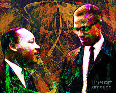 Malcolm And The King 20140205 Print by Wingsdomain Art and Photography