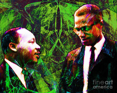Malcolm And The King 20140205p68 Print by Wingsdomain Art and Photography