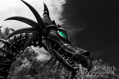 Maleficent Photograph - Maleficent by Jeffrey Miklush