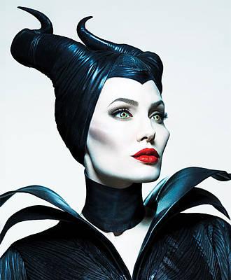Maleficent Photograph - Maleficent by Sue Rosen