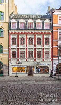 Malmo Photograph - Malmo Shops by Antony McAulay