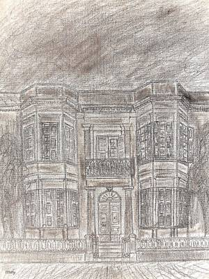 Abstract Realism Drawing - Malta 5 by Patrick J Murphy