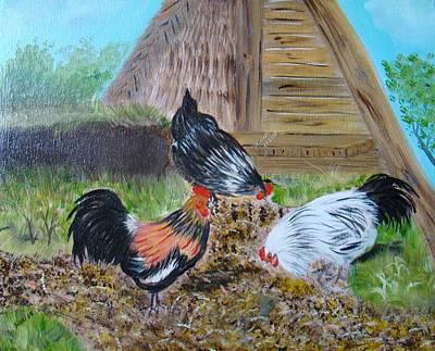 Mama And Papa's Farm Print by Noel Hernandez