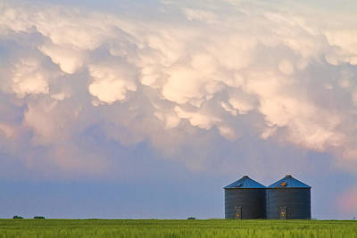 Agriculture Photograph - Mammatus Country Landscape by James BO  Insogna