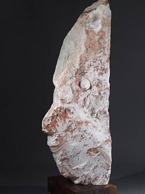 Sculpture - Man ...  by Manuel Abascal