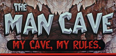 Man Cave Print by Frozen in Time Fine Art Photography