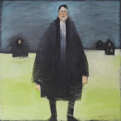 Man In Black Coat Original by Tim Nyberg