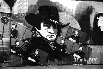 Man In Black Print by Dan Sproul
