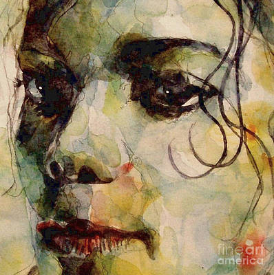 Michael Jackson Painting - Man In The Mirror by Paul Lovering