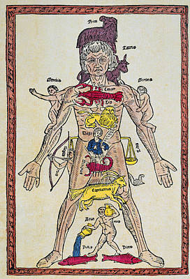 Man Of Signs, 1495 Print by Granger
