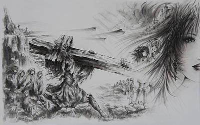 Man Of Sorrows Original by Rachel Christine Nowicki