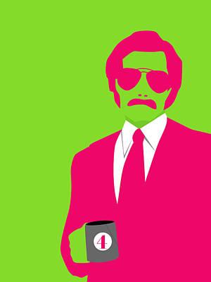 Famous Digital Art - Man Poster by Naxart Studio