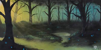 Comfort Painting - Mana Pool by Tyrone Webb