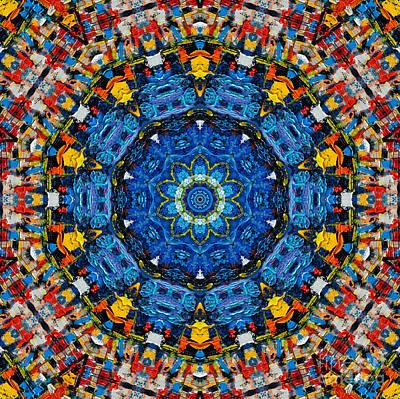 Chakra Painting - Mandala 1 by Ana Maria Edulescu