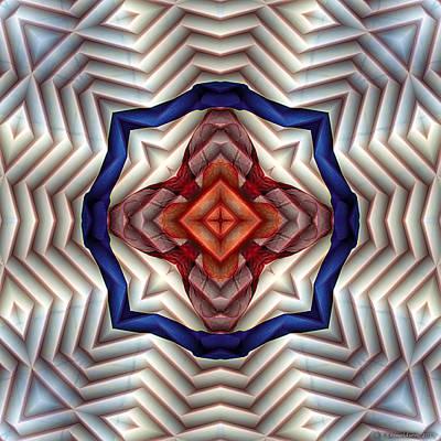 Mandala 11 Print by Terry Reynoldson