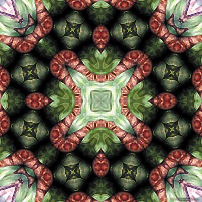 Mandala 113 Print by Terry Reynoldson
