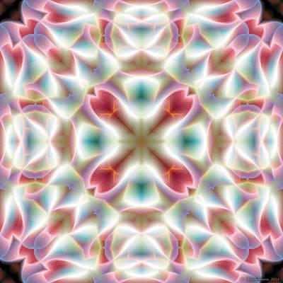 Mandala 126 Print by Terry Reynoldson