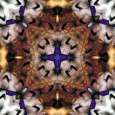 Mandala 17 Print by Terry Reynoldson