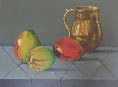 Mango Drawing - Mango by Lina Velez