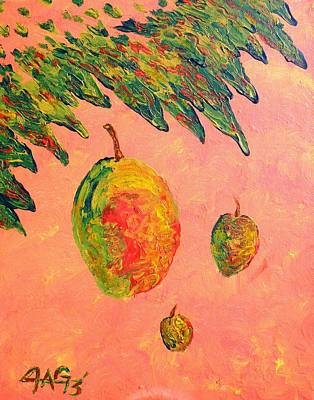 Gypsy Painting - Mango Sky by The GYPSY And DEBBIE