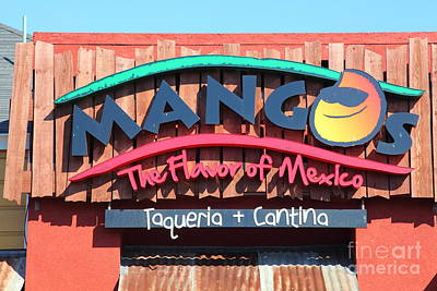 Mango Photograph - Mangos Restaurant At San Francisco California 5d26091 by Wingsdomain Art and Photography