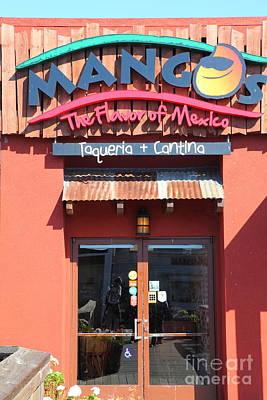 Mango Photograph - Mangos Restaurant At San Francisco California 5d26092 by Wingsdomain Art and Photography