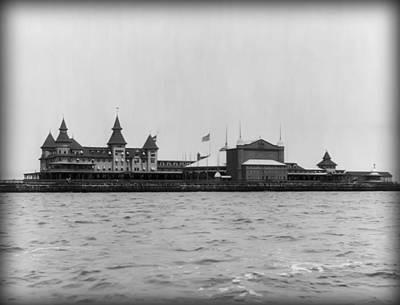 Manhattan Beach Hotel Coney Island 1904 Print by Digital Reproductions