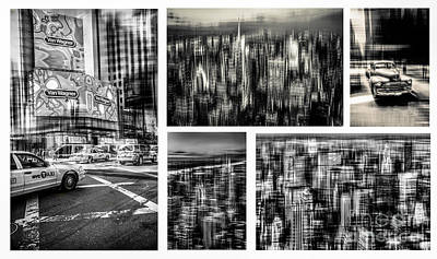 Manhattan Collection I Print by Hannes Cmarits