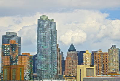 Manhattan Skyline II Print by Galexa Ch