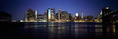Manhattan Skyline Seen From Fulton Print by Panoramic Images