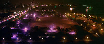 Manila Bay Night View Print by Joe  Connors