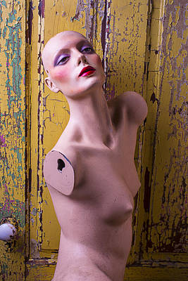 Human Head Photograph - Mannequin Beauty by Garry Gay