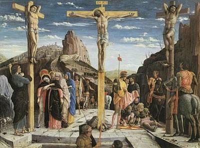 Mantegna, Andrea 1431-1506. Calvary Print by Everett
