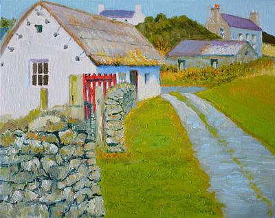 Manx Red Gate Original by Dai Wynn