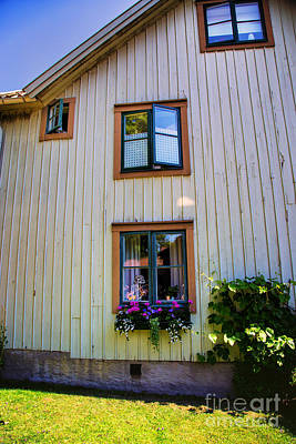 Orebro Photograph - Many Windows by Rick Bragan
