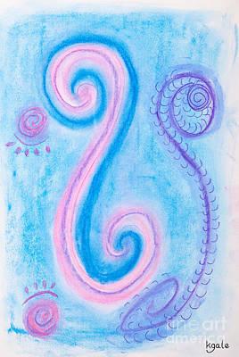 Maori Peace Symbol Print by Simon Bratt Photography LRPS