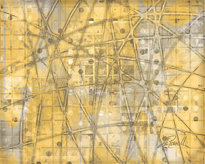 Map Of Secrets  Print by Ann Powell