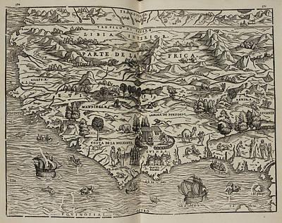 Que Photograph - Mapa Del Parte De La Frica by British Library