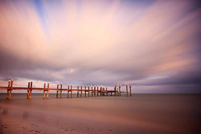 Pier Photograph - Marathon Key Long Exposure by Adam Romanowicz