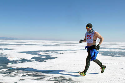 Siberia Photograph - Marathon Runner by Louise Murray