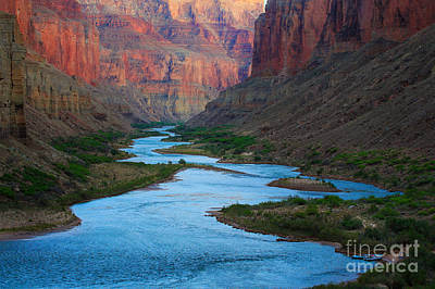 Marble Canyon Rafters Print by Inge Johnsson