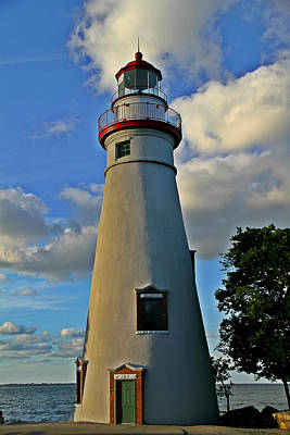 Beautiful Lighthouses Photograph - Marblehead Lighthouse by Dan Sproul