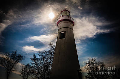 Marblehead Lighthouse Print by Lori England Zornes