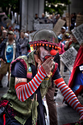 Bicycles Photograph - March Against Monsanto - Seattle Washington by David Patterson