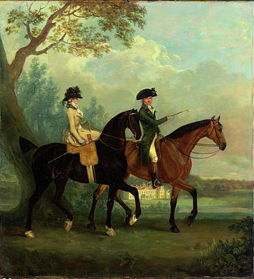 Cupola Painting - Marcia Pitt And Her Brother George Pitt, Later 2nd Baron by Litz Collection